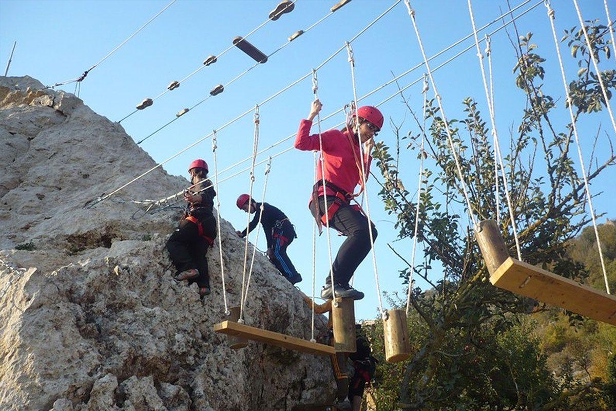 Foto parque urbasa aventura